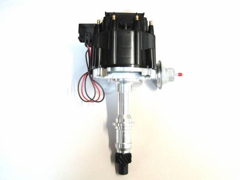 RPC - RPC Pontiac New HEI Distributor with Black Cap RPC-S3922-BK
