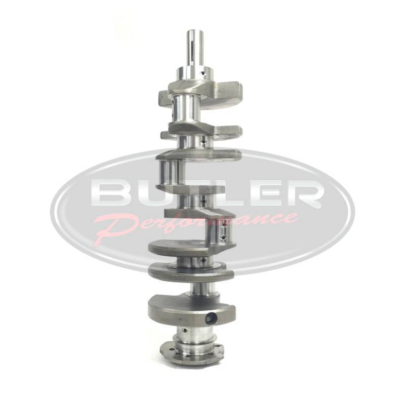 "RPM - RPM Pontiac Cast Crankshaft, 4.000"" Stroke, 3.00"" Main, 326/350/389/400 Blocks, 2.200"" BBC RJ"