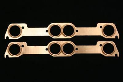 SCE Gaskets - SCE Pontiac Round Port Pro Copper Header Gaskets (Set) SCE-4028