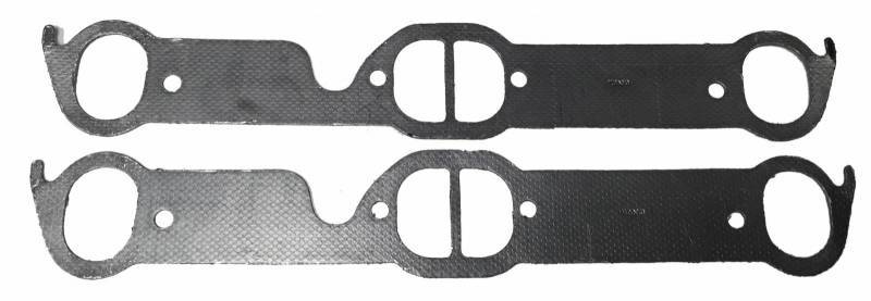 SPM Gaskets - SPM Pontiac Large D-port Exhaust Gasket (Set) SPM- 55436-2
