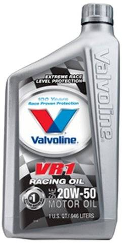 Valvoline - Valvoline VR1 Racing Oil- 20W50, QT, VAL-VV211