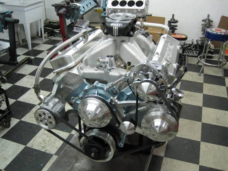 BP Crate Engine 461-501 cu  in  Turn Key