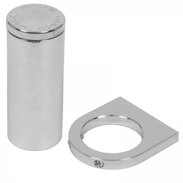 March Performance - March Billet Aluminum Power Steering Remote Reservoir and Bracket MAR-450