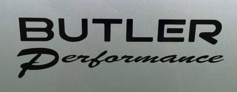 Butler Performance - Butler Performance.com Decal, Black or White BPI-DECAL