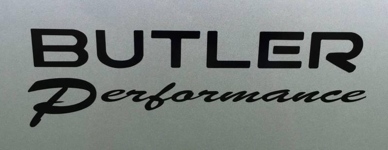 Butler Performance - Butler Performance.com Decal, Black or White BPI-DECAL