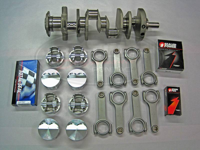 "Butler Performance - Butler Performance 383-388 ci Balanced Rotating Assembly Stroker Kit, for 350 Block, 4.000"" str."