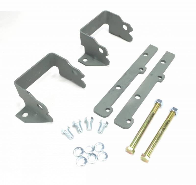 Warpath Restoration - Warpath Pontiac Engine Adapter Kit, 1965-69 Block 2- Bolt Motor Mounts to 1970-81 FB, Set WRP-MM1