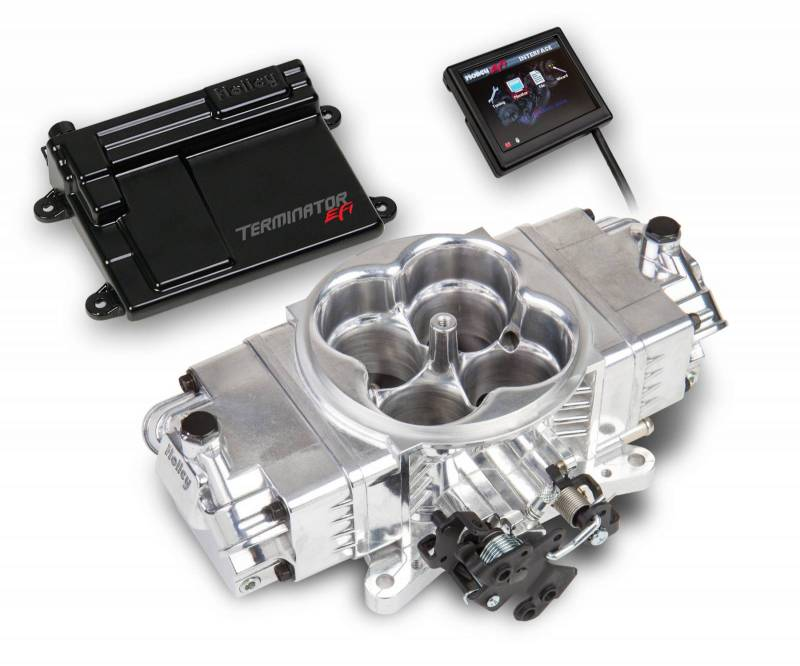 Holley - Holley Terminator Stealth EFI Kit, Polished HLY-550-440