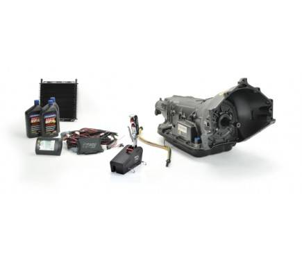 TCI Automotive - TCI 6X Six Speed Transmission Package; GM Bellhousing & Outlaw™ Shifter TCI-271700P3
