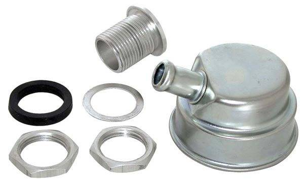 "Moroso - Moroso Positive Locking Oil Separator/Breather w/Tube for 3/4"" Hose MOR-68785"