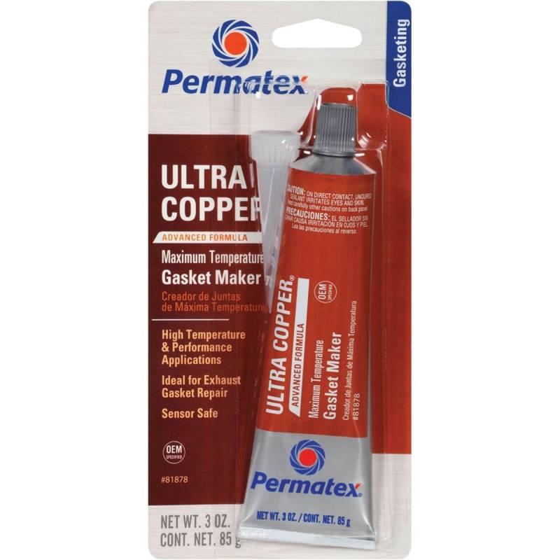 Permatex - Permatex Ultra Copper Silicon Sealer, Maximum Temperature PER-81878
