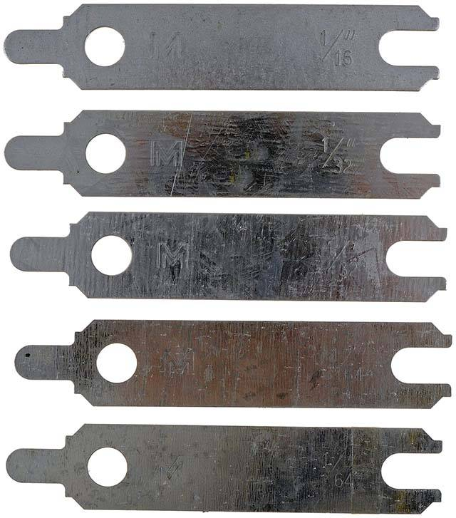 Dorman - Dorman Starter Alignment Shims, Each MOT-02336