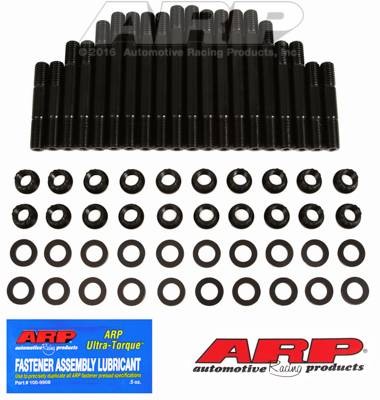 ARP - ARP Pontiac Round Port Head Studs for Early Style Edel RPM Heads (Made before 3-15-02) w/12-pt nuts ARP-190-4304