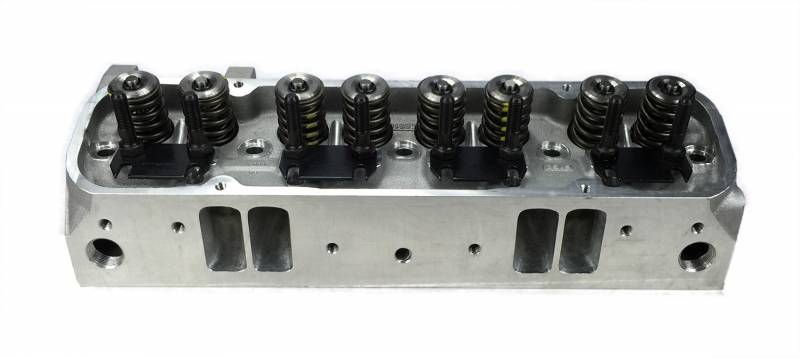 Butler Performance - Butler Performance Edelbrock Round Port Custom CNC Machined Pontiac 72cc 340+CFM Cylinder Heads,(Pair) BPI-72cc-EDL-RdPort-340CNC