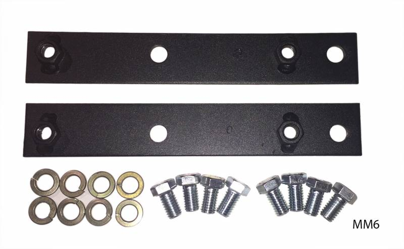 Butler Performance - Butler Performance Pontiac Engine Mount Adapter Kit to put 1969 and earlier Engines in 1970 & Up Chassis, Set BPI-MM6