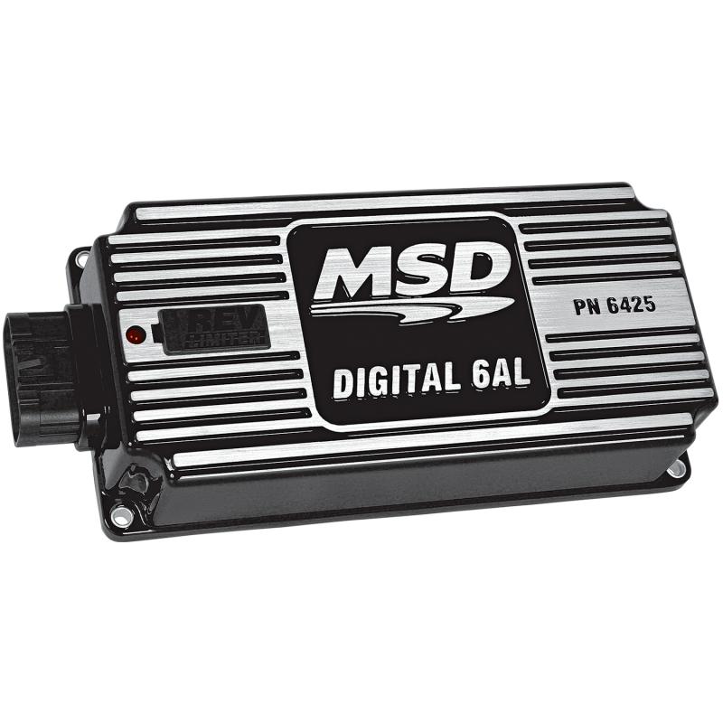 MSD Performance - MSD 6AL Digital Ignition Box w/ Built in Rev Limiter, Black MSD-64253