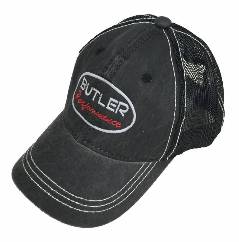 Butler Performance - Butler Performance Hat Black on Black / Distressed