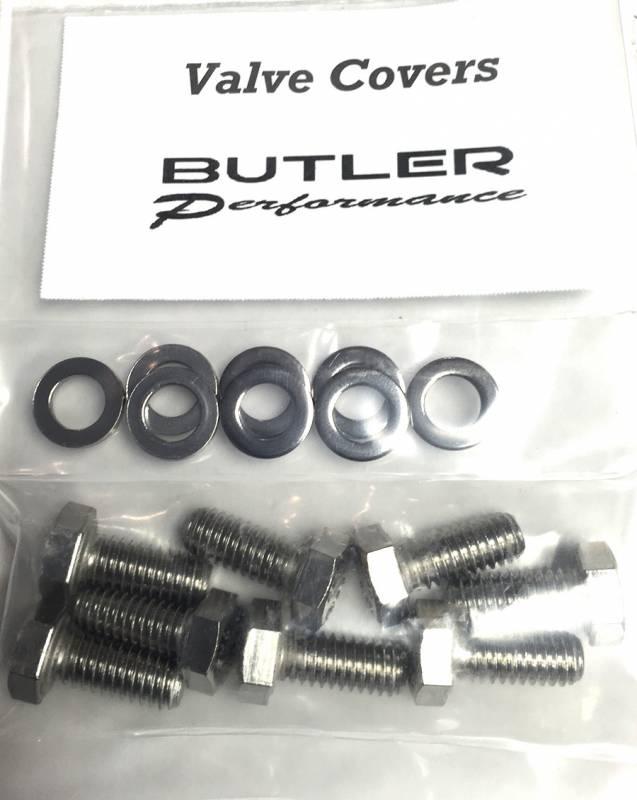 Butler Performance - Butler Performance Valve Cover Fastener Kit, 16pc ABO-Kit-VC