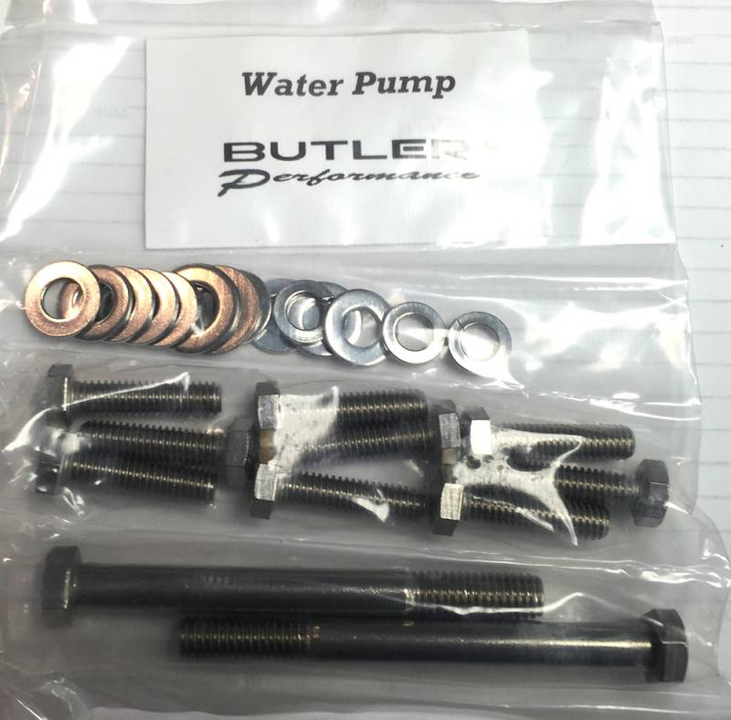 Butler Performance - Butler Performance Water Pump Fastener Kit, 22pc ABO-Kit-WP