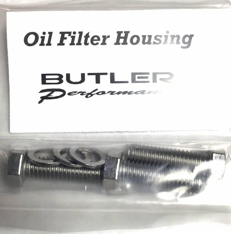 Butler Performance - Butler Performance Oil Filter Housing Fastener Kit, 6pc ABO-Kit-OF