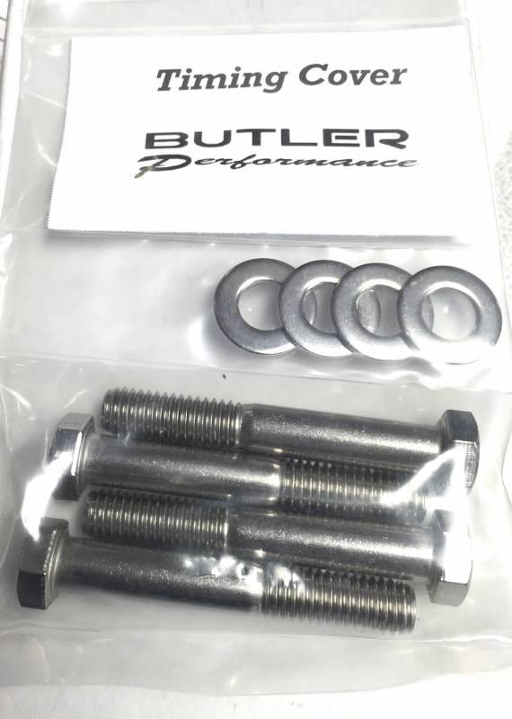 Butler Performance - Butler Performance Timing Cover Fastener Kit, 8pc ABO-Kit-TC