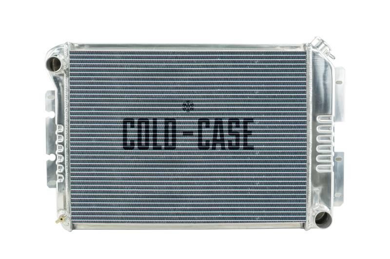 Cold Case - Cold Case 67-69 F-Body Aluminum Radiator, (MT) CCR-CHC11