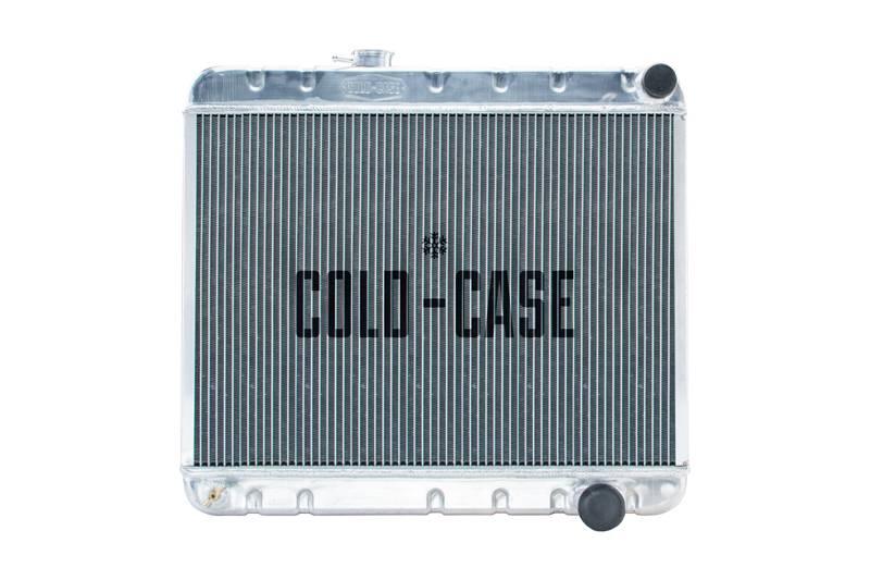Cold Case - Cold Case 65 Pontiac GTO Tempest LeMans Aluminum Performance Radiator. (MT) Cars W/O AC. CCR-GPG18