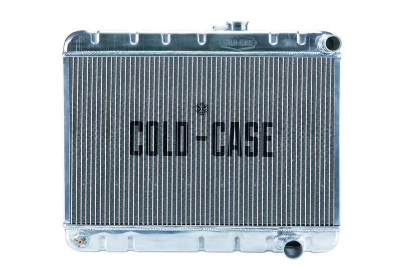 Cold Case - Cold Case 65 Pontiac GTO Tempest LeMans TRIPOWER Aluminum Performance Radiator. (AT) Cars w/o AC. CCR-GPG19A