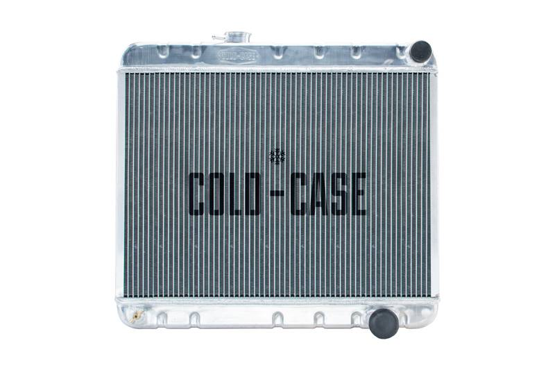 Cold Case - Cold Case 64-65 Pontiac GTO Tempest LeMans Aluminum Radiator, AC, (MT) CCR-GPG22
