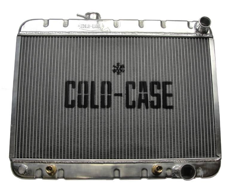 Cold Case - Cold Case 64-65 Pontiac GTO Tempest LeMans Aluminum Radiator, AC, (AT) CCR-GPG22a