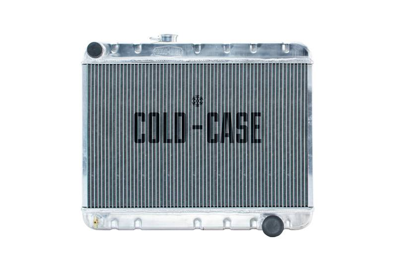 Cold Case - Cold Case 66-67 Pontiac GTO Tempest LeMans Aluminum Radiator, W/O AC (MT) CCR-GPG34