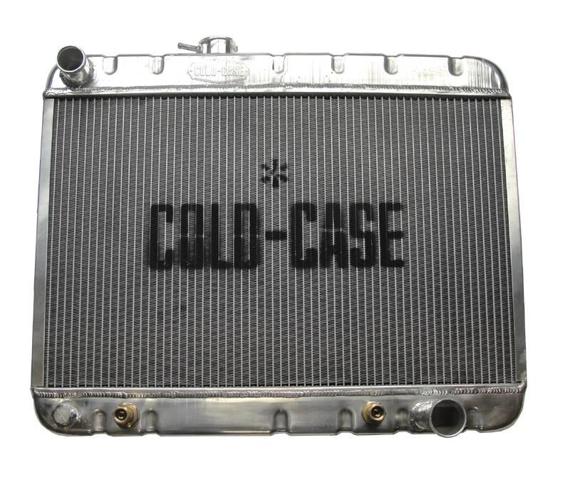Cold Case - Cold Case 66-67 Pontiac GTO Tempest LeMansAluminum Radiator, AC, (AT) CCR-GPG38A