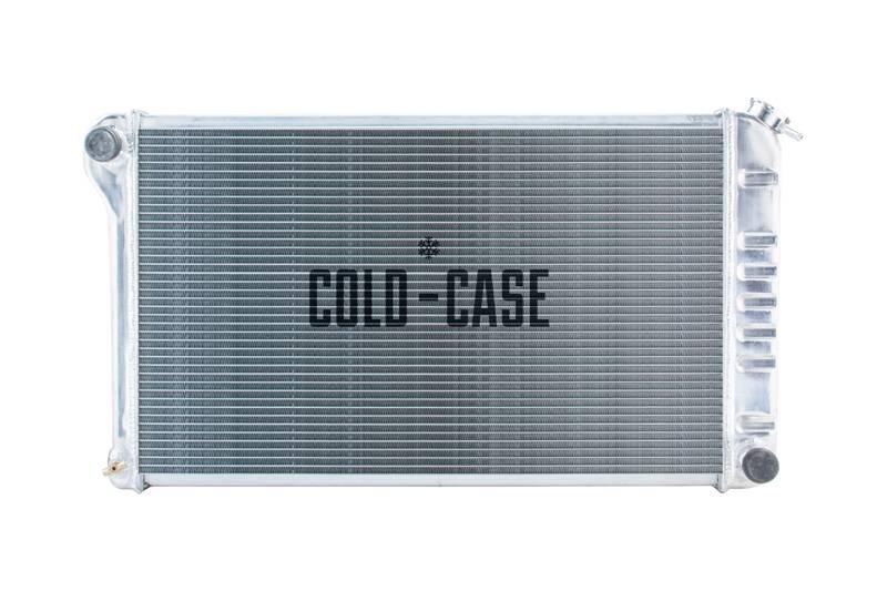Cold Case - Cold Case 68-72 A-Body GTO LeMans Tempest Aluminum Radiator, (MT) CCR-GMA42TF