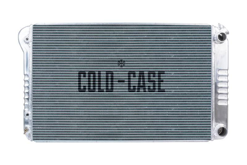 Cold Case - Cold Case 68-72 A-Body LS SWAP Aluminum Radiator CCR-GMA546A