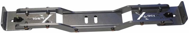 American Powertrain - American Powertrain Aluminum Adjustable Cross Member 26''-32'' Between Rails APO-XFUN-10001