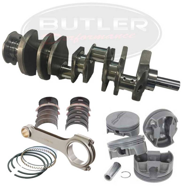 """Eagle Specialty - Eagle Flat Top 468ci Competition Balanced Rotating Assembly Stroker Kit, for 428/455 Block, 4.250""""str."""