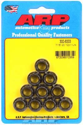ARP - ARP 7/16-20 12pt, Nut Kit ARP-300-8333