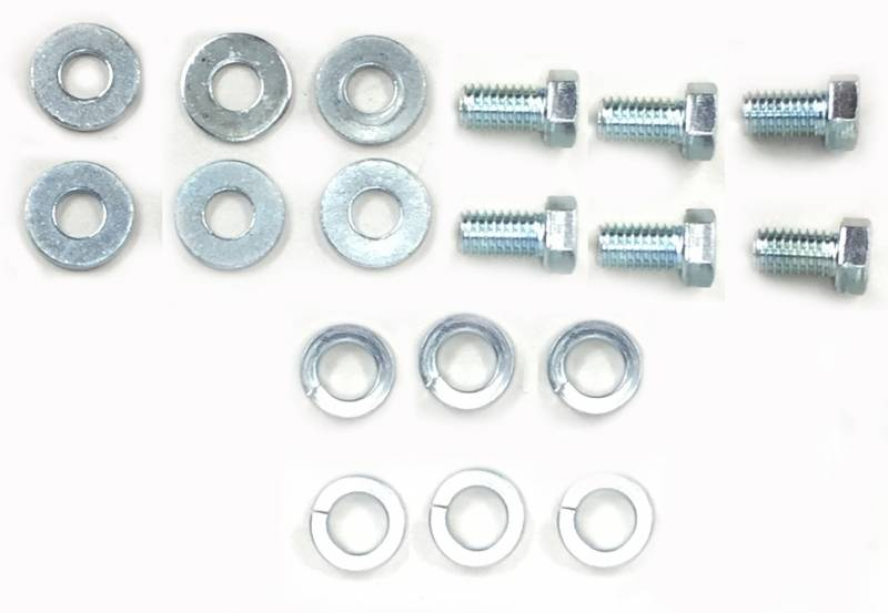 Butler Performance - Butler Performance Frame Mount Bolt Kit, 1964-72 GTO, Lemans, Tempest, Fits AAU-N245A Frame Mount BPI-BOLT-KIT-EM4