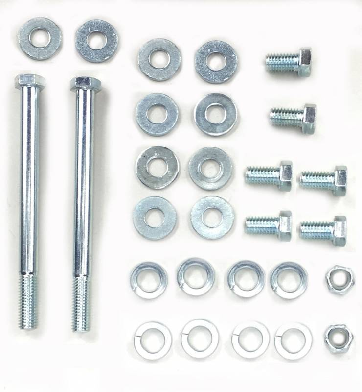 Butler Performance - Butler Performance Engine Mount Bolt Kit, 70-81 Firebird, Fits N242B, SM75, F10774, 2387-P  Mounts BPI-BOLT-KIT-EM2