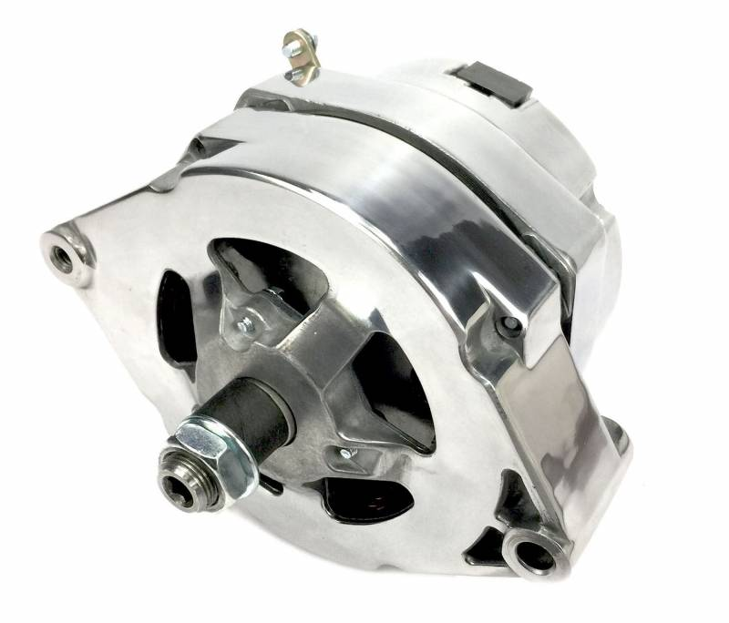 March Performance - March GM 10SI 100 amp 1 wire Polished Alternator MAR-P550