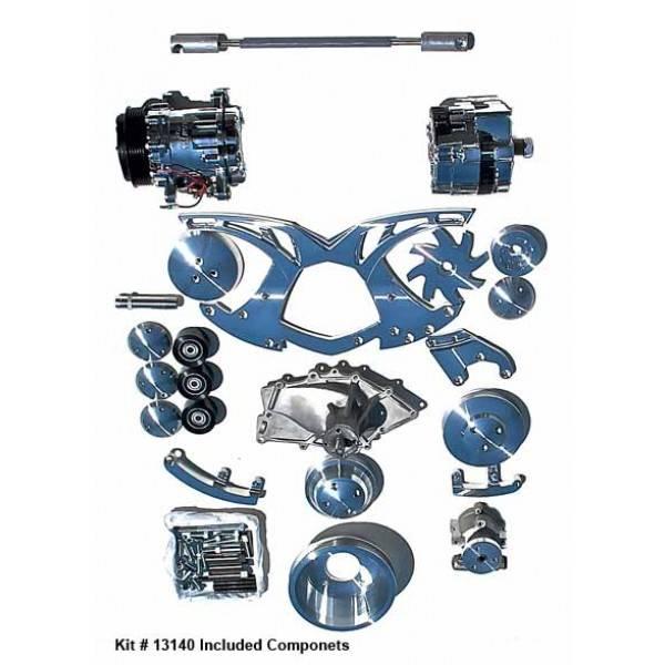 Alternator, A/C, & Power Steering Serpentine All Inclusive Kit