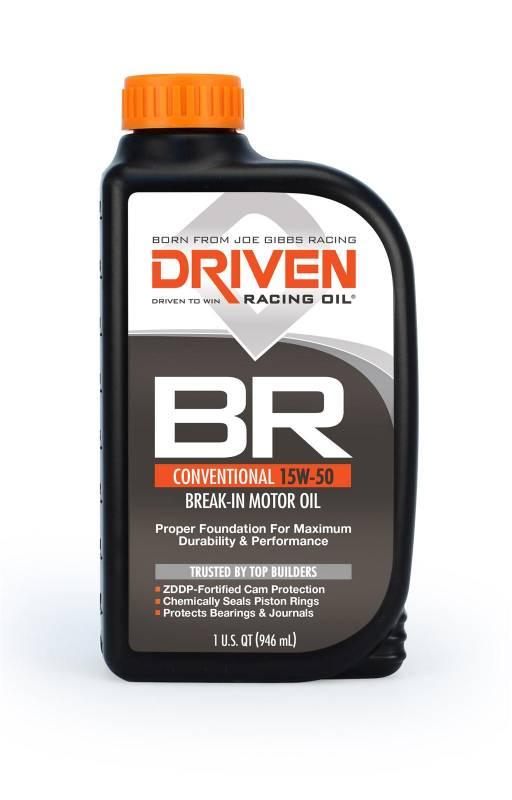 Driven - Driven BR Break-In Oil, 15w50, Quart or Case/12, JGD-00106