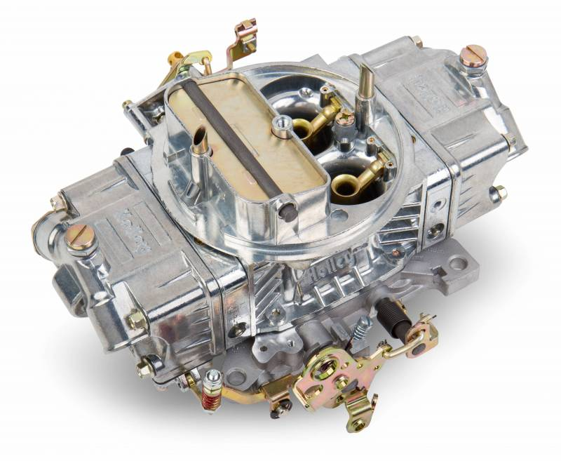 Holley - Holley 850 CFM Double Pump Holley Carb - Shiny Finish HLY-0-4781S