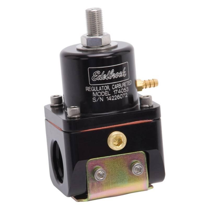 Edelbrock - Edelbrock Carbureted Adjustable Bypass Fuel Pressure Regulator EDL-174053