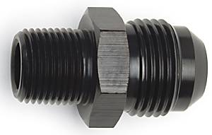 Russell - Russell Adapter, -8 Flare X 1/4 NPT, Black, RUS-660473