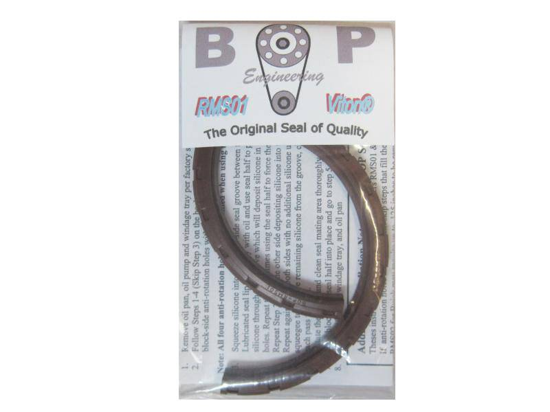 "BOP - BOP Pontiac 3.00"" Main Viton 2pc Rear Main Seal 301 thru 400 BOP-RMS-01"