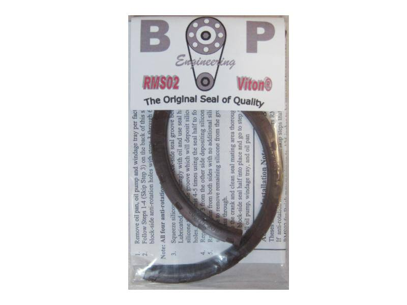 "BOP - BOP Pontiac 3.25"" Main Viton 2pc Rear Main Seal (421/428/455) BOP-RMS-02"
