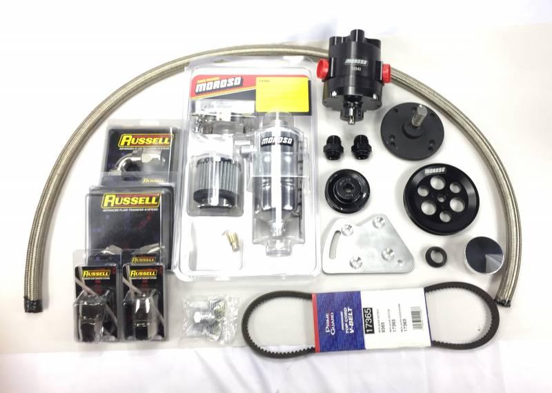 Butler Performance - Butler Performance Complete Moroso Evac Pump Kit, 3 Vane Pump BPI-EVAC-MOR3V