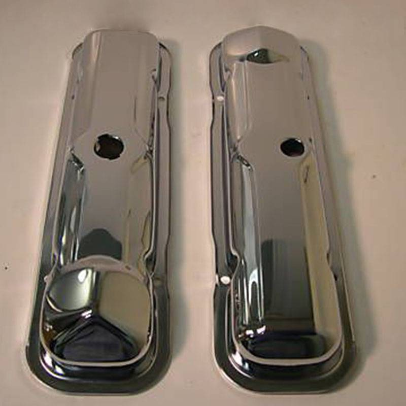 Butler Performance - Pontiac 1965 389 Chrome Valve Covers (Set) AAU-N221R