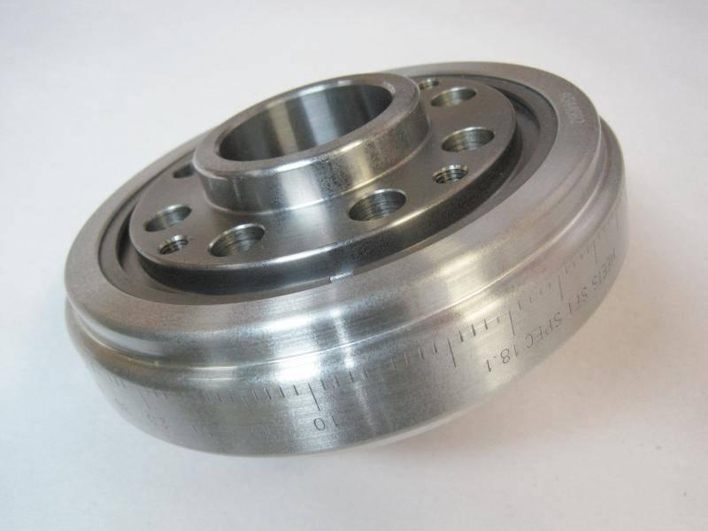 Romac - Romac Pontiac 1968-79 4 Bolt (Steel) Balancer / SFI Approved w/ Timing Marks- ROM-0223